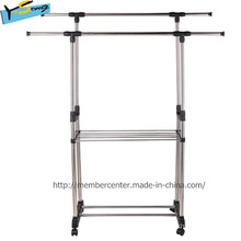 Magic Heavy Duty Two Pipe Protable Airer for Clothes
