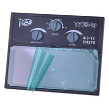 solar auto welding glass lcd filter for mask can auto darkening