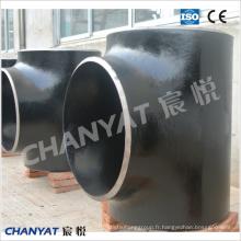 Pièce en t de té d'acier au carbone de pièce en t (1.5837, 1.5637, 12Ni4) ASME B16.9