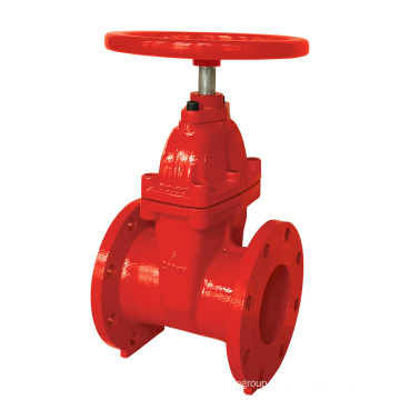 UL Listed Flanged End Gate Valve