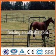 Usine de haute qualité vente chaude ranch ranch panneau de clôture en acier pour les chevaux et le bétail (fabricant professionnel)