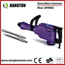 Martelo de demolição elétrico de 1500W 65mm (KTP-DH9662)