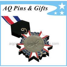 Custom Metal Medal with Nickel Plating