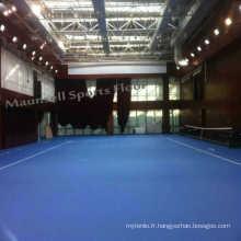 Revêtement intérieur intérieur / extérieur PSP / PVC Tennis Sport Court
