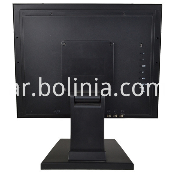 Embedded Monitor With Stand Back