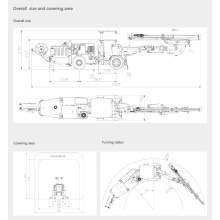 60KW Underground Drilling Machine for core drilling