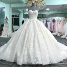Alibaba elegantes trägerloses Ballkleid-Hochzeitskleid 2017 DY038
