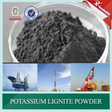 Material de lama de perfuração de poço - Lignite causado