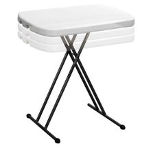 Mesa ajustável de altura ajustável para crianças / mesa de leitura pequena / mesa plástica de plástico infantil