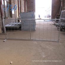 Paneles de corral de ovejas galvanizados Ganado de cría de granja Puerta de estancia