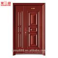 One and half leaves security steel door steel door