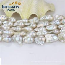 Hilo de perlas de agua dulce Nulceated AAA- Calidad 16mm al por mayor Hilos de perlas