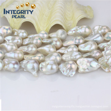 Freshwater Nulceated Pearl Strand AAA- Quality 16mm Wholesale Pearls Strands