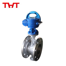 THT brand fast loading butterfly valve stainless steel seal