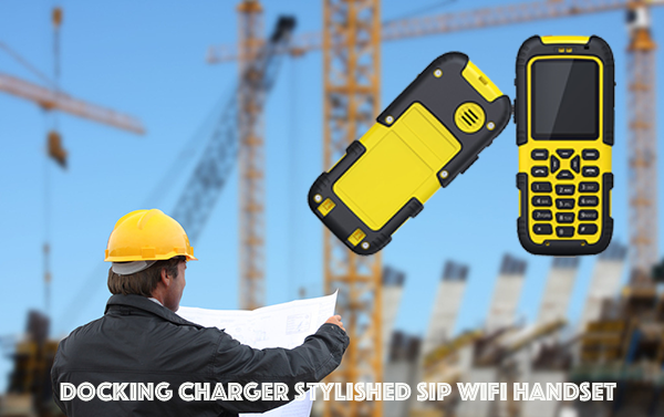 Docking Charger Stylished SIP WIFI Handset