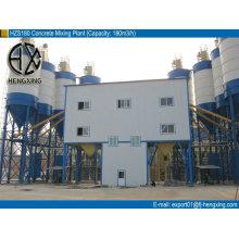 HZS120 Planta mezcladora de hormigón preparado