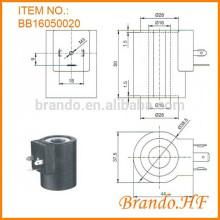 Bobine électromagnétique hydraulique ac220v
