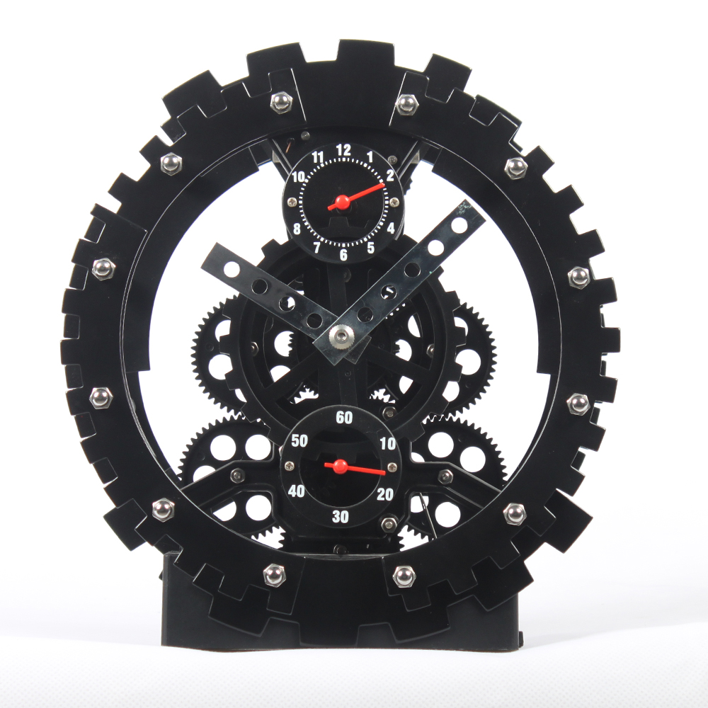 Bell Alarm Gear Clock
