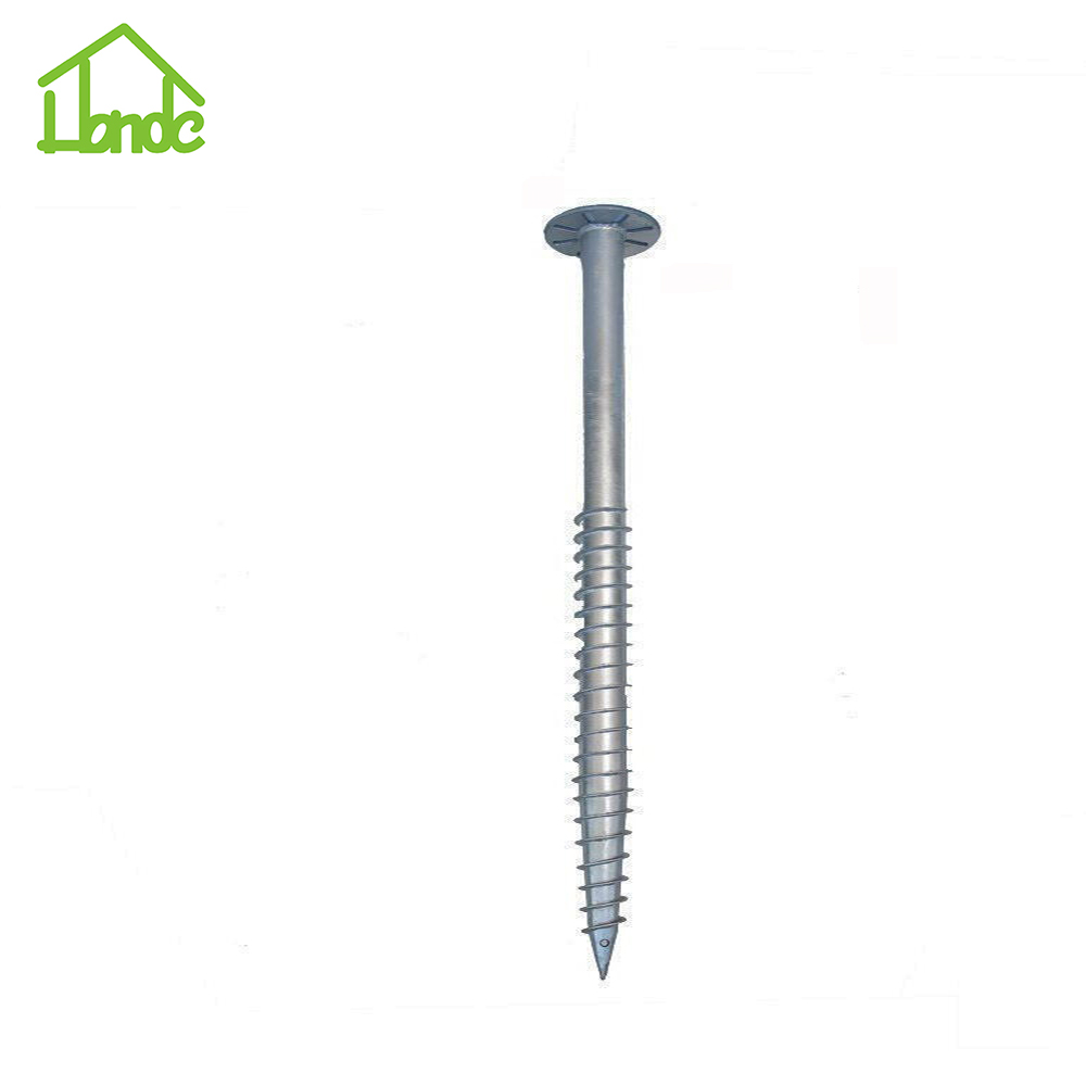 Jangkar Screw Ground Steel untuk Mounting Pv