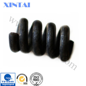 Acabado negro pesado Muelle de compresión Resorte de bobina