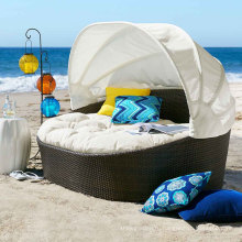 Плетеная Садовая мебель открытый ротанга патио набор диван