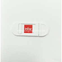 Promotional ABS Webcam Cover With Logo Printed