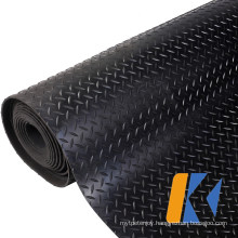 Factory Custom Rolled Anti-Slip Protection Soundproof Anti Shock Cutting Rubber Mat for Truck/Trailer