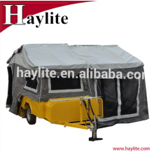 Высокое качество жесткий пол Кемпер прицеп с палаткой
