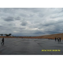 2мм HDPE-геомембрана для прудового лайнера