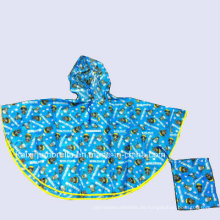 Modischer Poncho Kinder Umhang Regenmantel