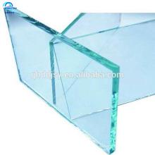 высокое качество 16.14 мм многослойное закаленное стекло крытый балясины для лестниц и продажу