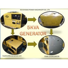 Small Diesel Generator for Home Use 3kw, 5kw, 6kw