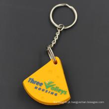 Corrente chave de PVC macio barato para a promoção