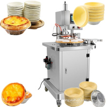 Egg tart wrapper forming machine, small snack food processing equipment, bread machine