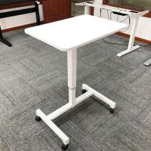 Pneumatic Height gas Adjustable Standing Desk One Leg