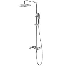 Ensemble de colonne de robinet de douche thermostatique à 2 fonctions