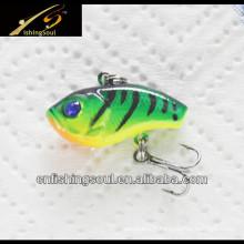VBL024 2.5cm, 1.5g, mini leurres de pêche en plastique Vib Bait