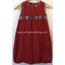 Red Baby girl Christmas Holiday dress