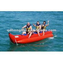 barco de plátano de material de pvc de 5 personas