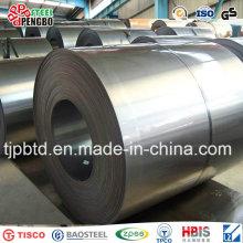 Feuille de bobine en acier galvanisée plongée chaude (ISO9001: 2008; BV; SGS)