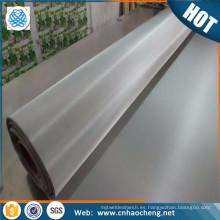 Súper duplex 2507 malla tejida de acero inoxidable / ropa de filtro para plantas farmacéuticas