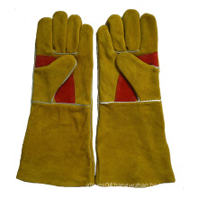 Golden Double Palm Heavy Duty Welding Gloves