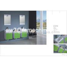 Hot design mdf mobiliário de luxo de banheiro