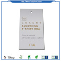 Custom printed clothing paper hang tags