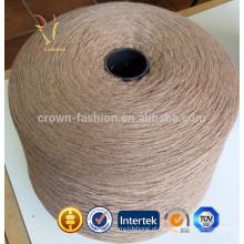 Fio vermelho de cashmere mongol para tricô de mão