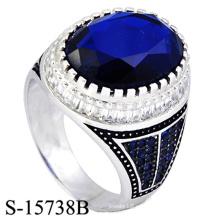 Anillo de plata de ley 925 de alta joyería para hombre