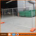 2.4X2.1m Clôture temporaire avec base en béton et bride pour l'Australie