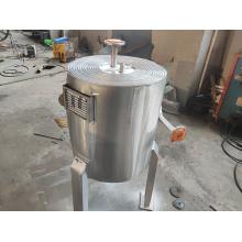trocador de calor de placa sprial com economia de espaço para caldeira a gás