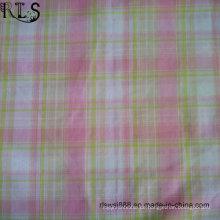 Baumwollpopeline-gesponnenes Garn färbte Gewebe mit Lurex für Hemden / Kleid Rls32-10po