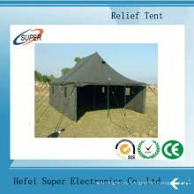 Шатер беженца, шатер сброса, использовали военные палатки для продажи